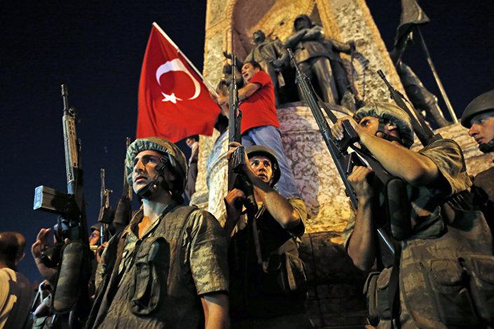 جنود أتراك