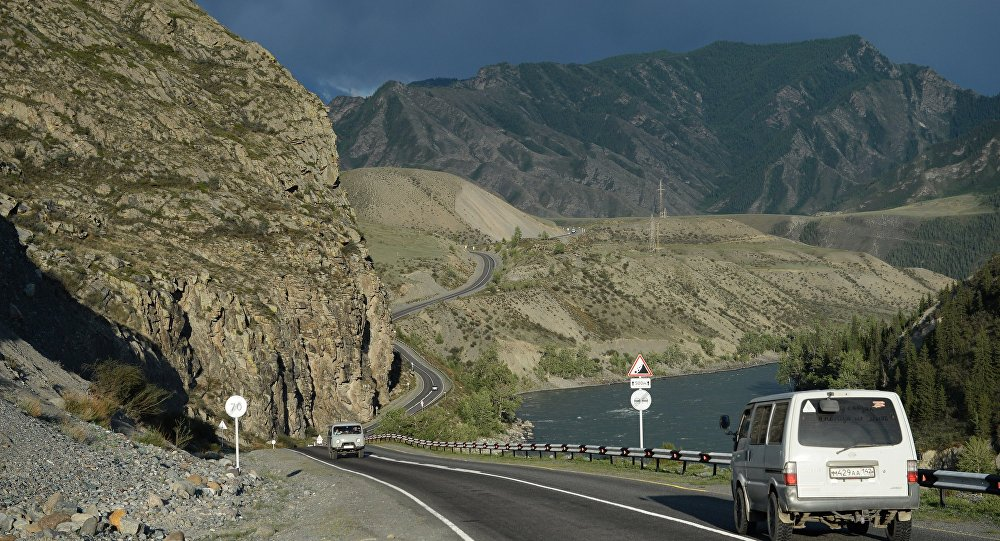 A motorway in the Republic of Altai