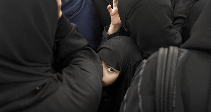 فتاة سعودية