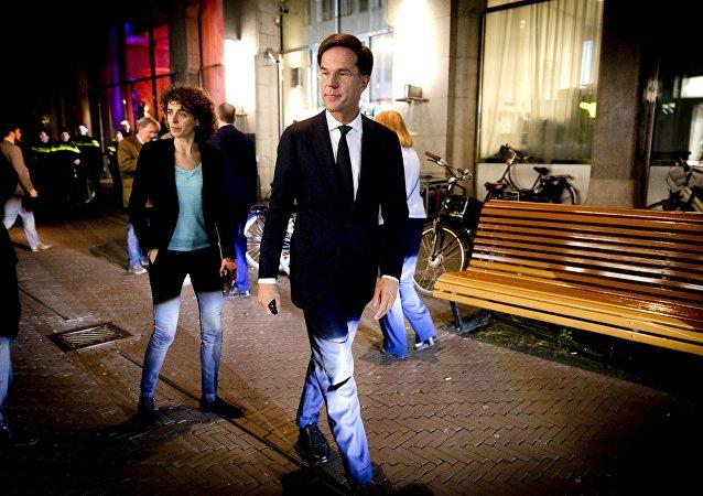 رئيس الوزراء الهولندي روته
