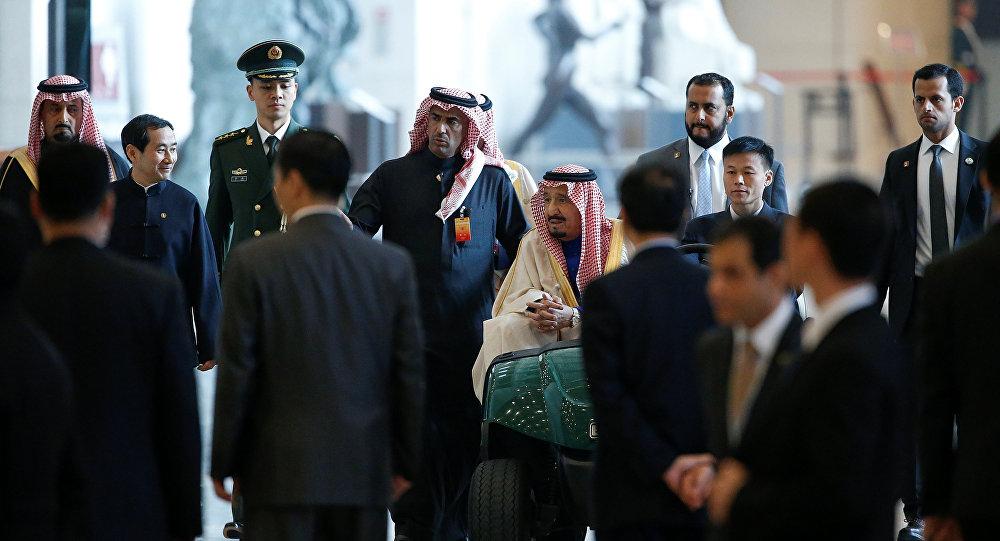 الملك سلمان في الصين
