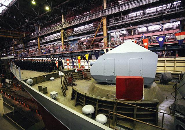 أحدث سفينة حربية روسية سوفيرشيني