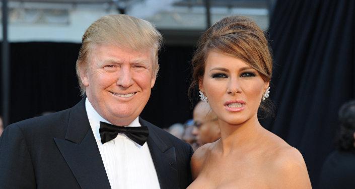 ميلانيا ودونالد ترامب