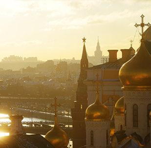 مدينة موسكو صباحا