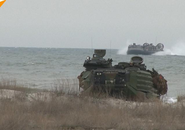 شاهد... الناتو يقترب أكثر فأكثر من حدود روسيا