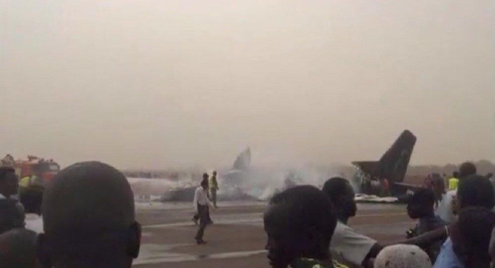 سقوط طائرة جنوب السودان