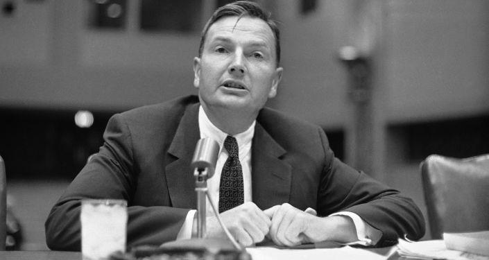 الملياردير الأمريكي دافيد روكفيلير، عام 1961