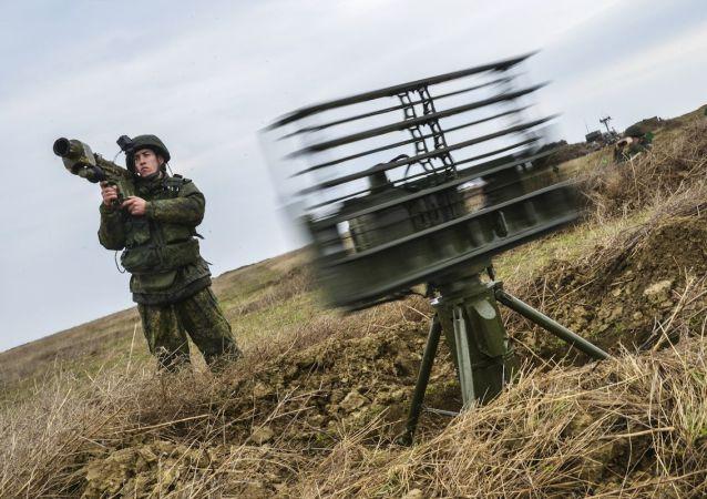 قوات الدفاع الجوي الروسي