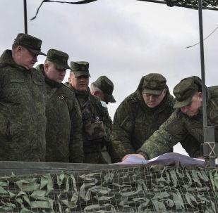 قائد قوات الإنزال الجوي الروسية، الفريق أول، أندريه سيرديوكوف