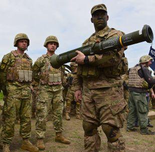 مناورات عسكرية مشتركة بين جورجيا والولايات المتحدة الأمريكية