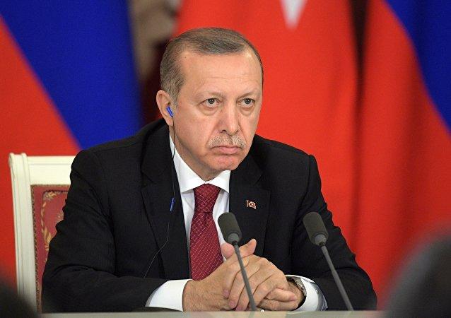 رئيس تركيا رجب طيب إردوغان في موسكو