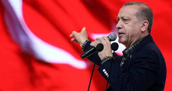 رئيس تركيا رجب طيب إردوغان في اسطنبول