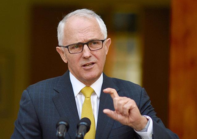 رئيس الوزراء الأسترالي، مالكولم تورنبول
