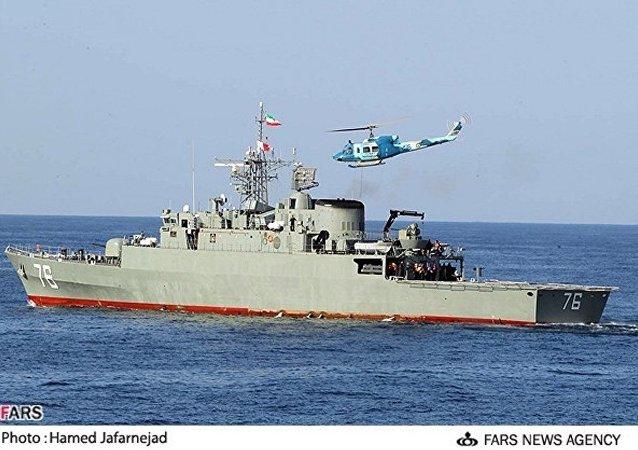بارجة إيرانية ساهاند
