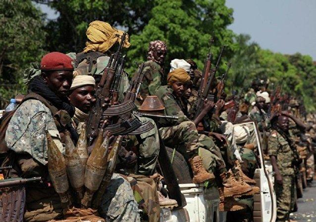 مقاتلين في أفريقيا