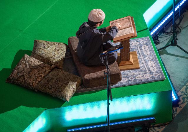 مهرجان القرآن السنوي في موسكو في مسجد موسكو الكبير