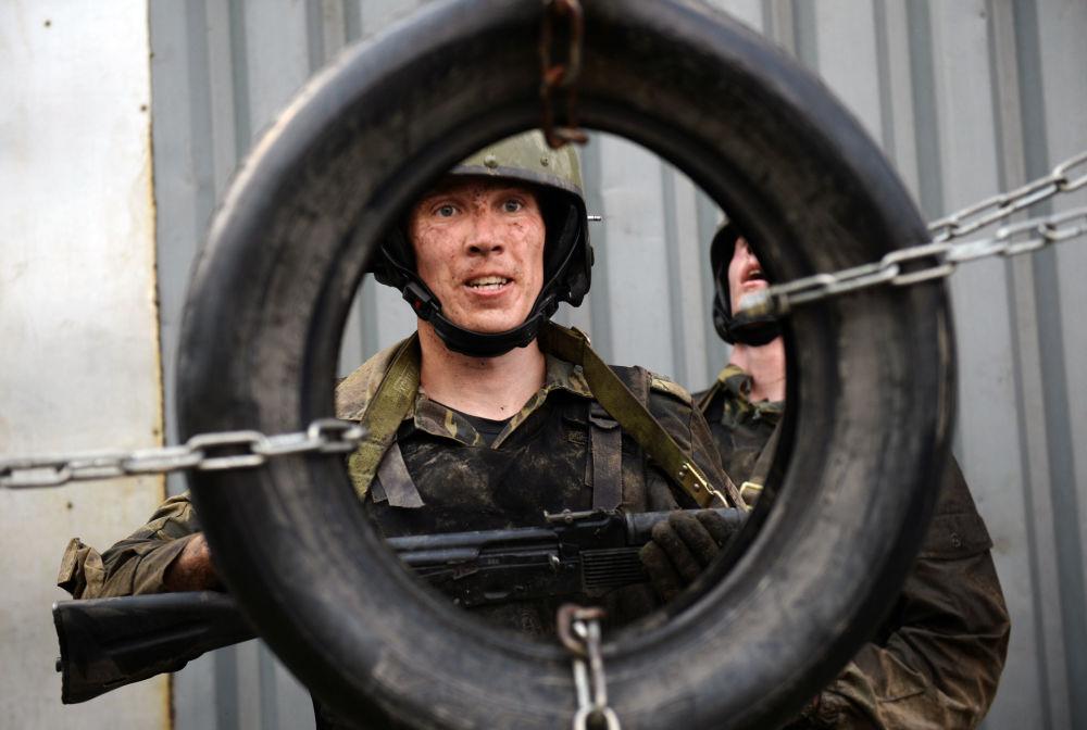 تجارب عسكرية في يكاتيرينبورغ