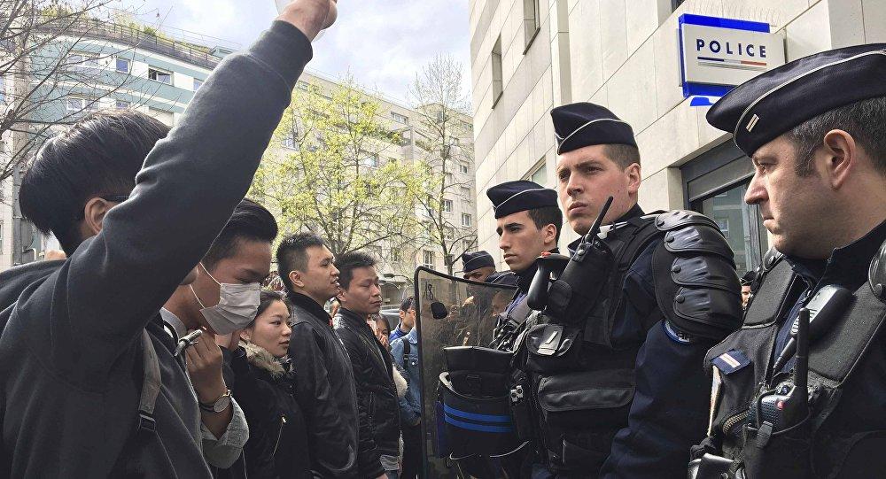 احتجاجات ضد الشرطة الفرنسية
