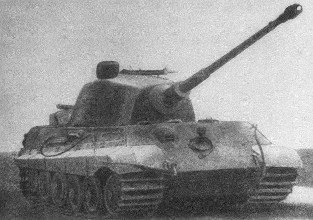 دبابة النمر الألمانية