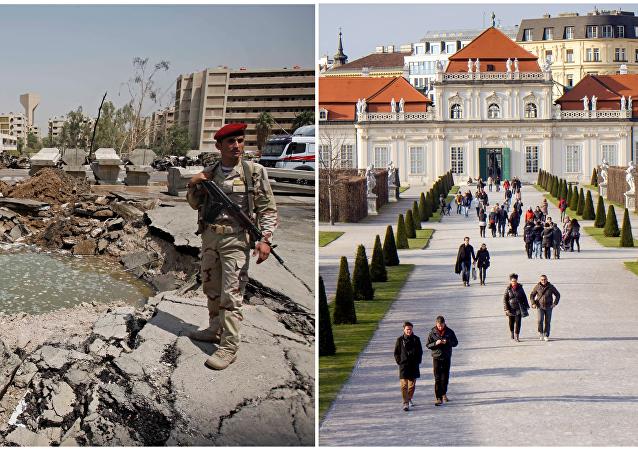أسوأ وأفضل أماكن للسكن - بغداد X فيينا
