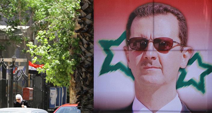 صورة الرئيس السوري بشار الأسد
