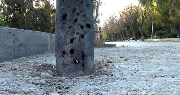 قذائف على دمشق