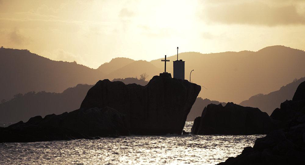 إحدى جزر سيشل