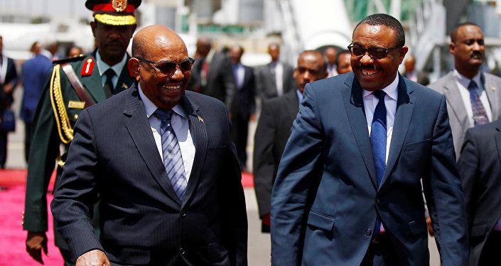 البشير وديسالين في أديس أبابا