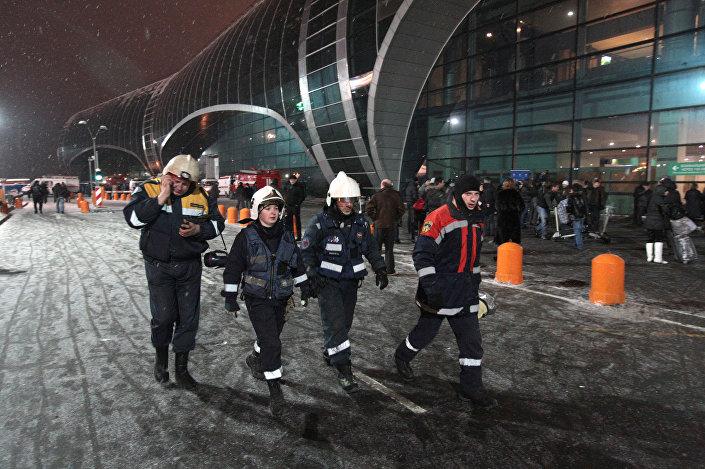 عملية إرهابية في مطار دوموديدوفو في موسكو، 24 يناير/ كانون الثاني 2011