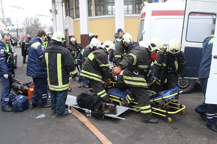 عملية إرهلبية في محطة مترو بارك كولتورا وآخر في محطة لوبيانكا في مدينة موسكو، 29 مارس/ آذار 2009