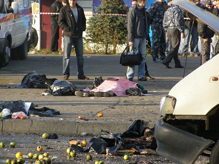 عملية إرهلبية في سوق في فلاديكوفكاز، 6 نوفمبر/ تشرين الثاني 2008