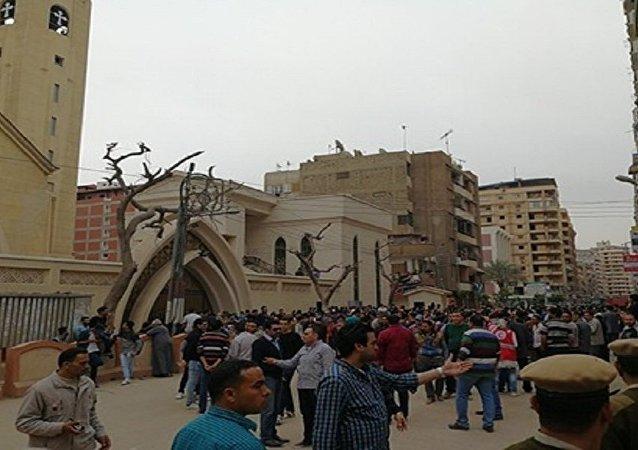 تفجير كنيسة مار جرجس