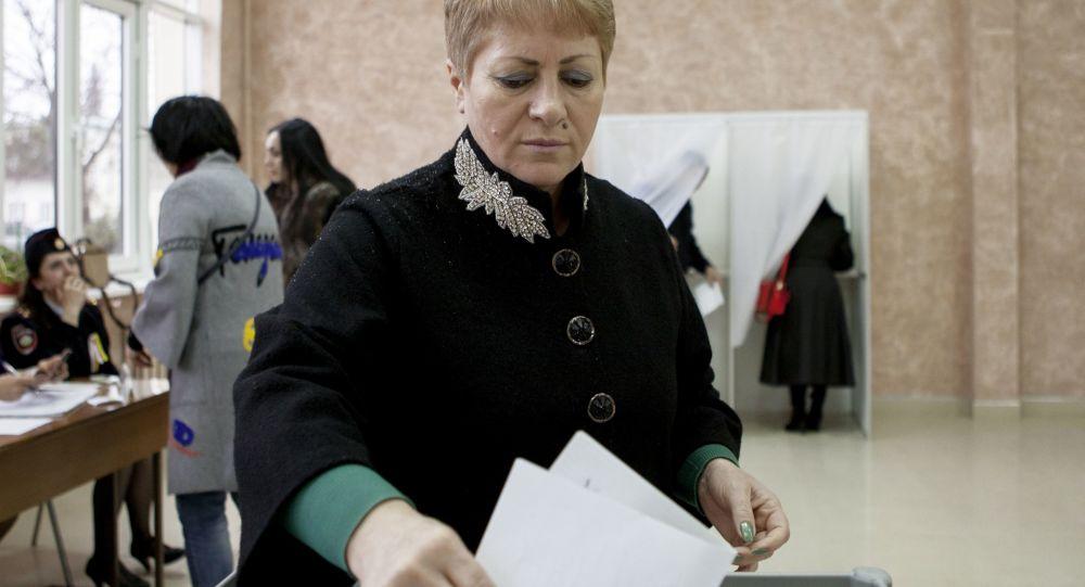 الانتخابات في أوسيتيا الجنوبية