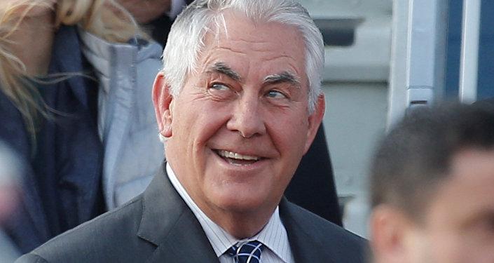 وزير الخارجية الأمريكي تيلرسون