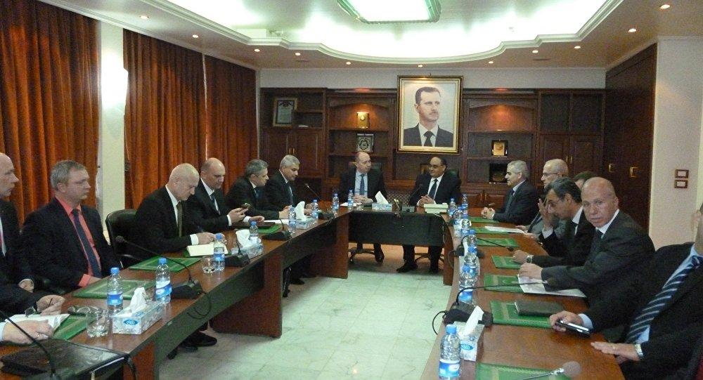 التعاون بين بيلاروسيا وسوريا