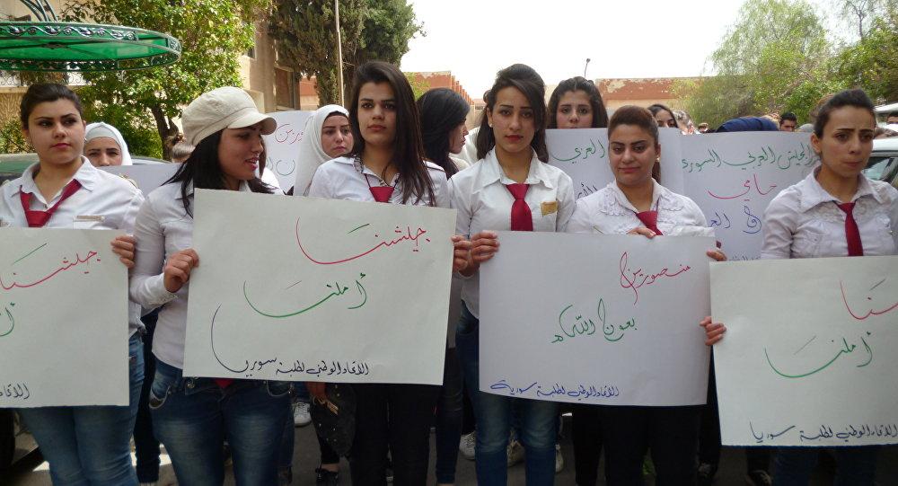 زحف سوري غاضب إلى الأمم المتحدة