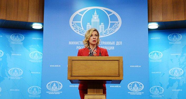 المتحدث الرسمي باسم الخارجية الروسية ماريا زاخاروفا
