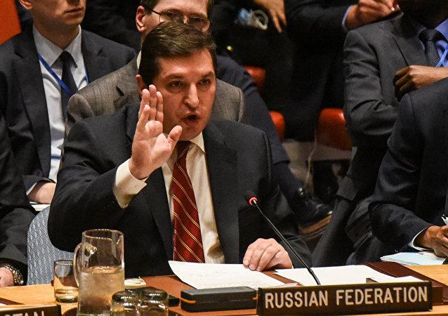 ممثل روسيا في مجلس الأمن