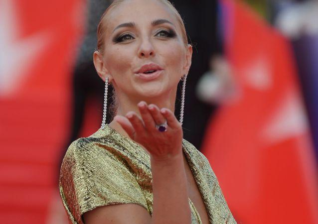 الرياضية الروسية تاتيانا نافكا في مهرجان موسكو السينمائي الدولي