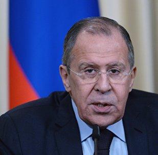 وزير الخاريجية الروسية سيرغي لافروف، 13 أبريل/ نيسان 2017