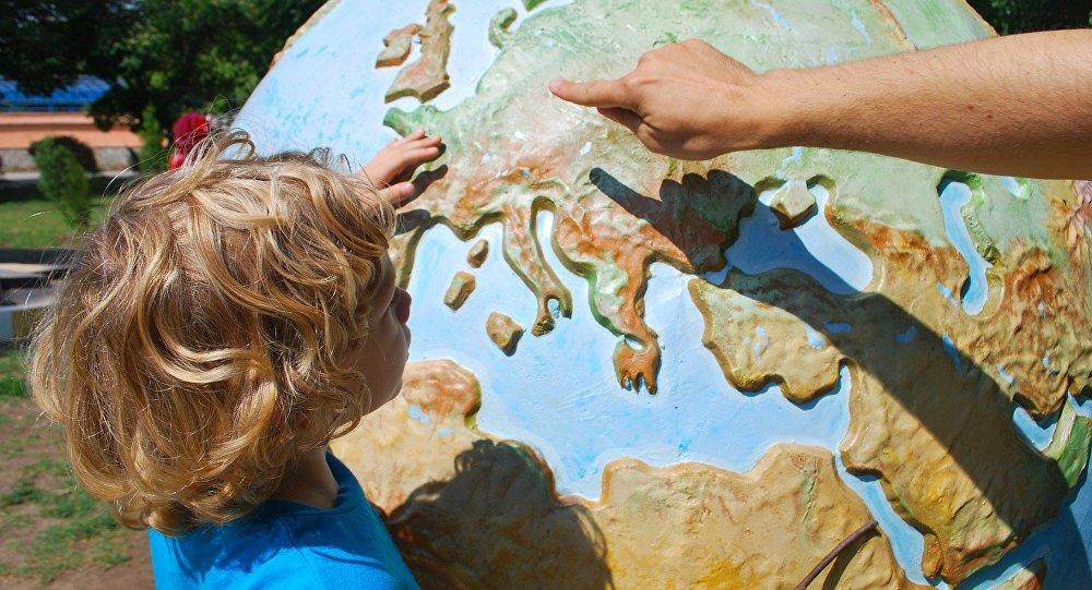 خريطة العالم
