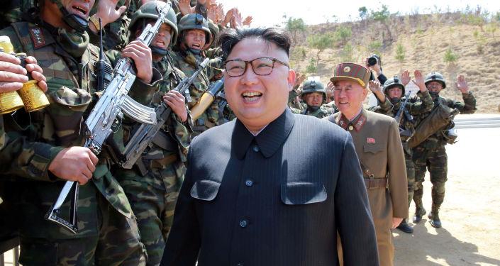 زيادة حدة التوتر الوضع  السياسي مع كوريا الشمالية