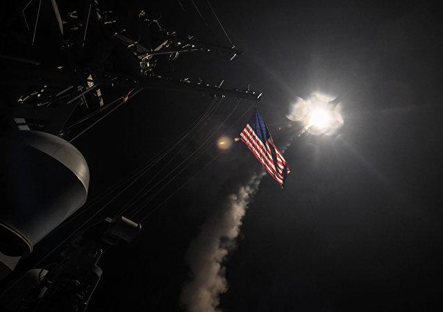 مدمرة تابعة للبحرية الأمريكية