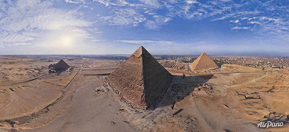 الأهرامات المصرية في الجيزة