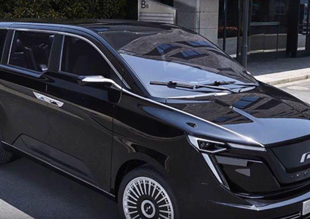 سيارة بتصميم لبناني