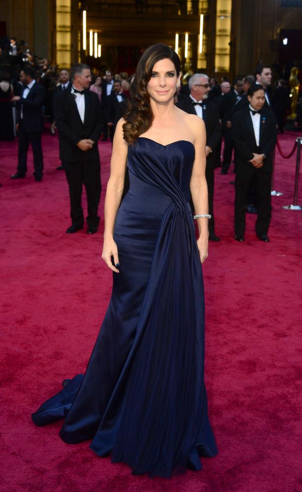 الممثلة الأمريكية ساندرا بولاك
