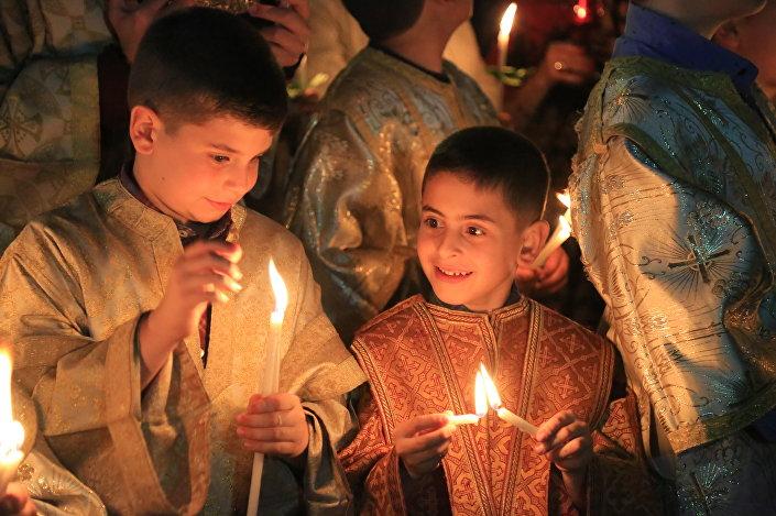 غزة- سبت النور