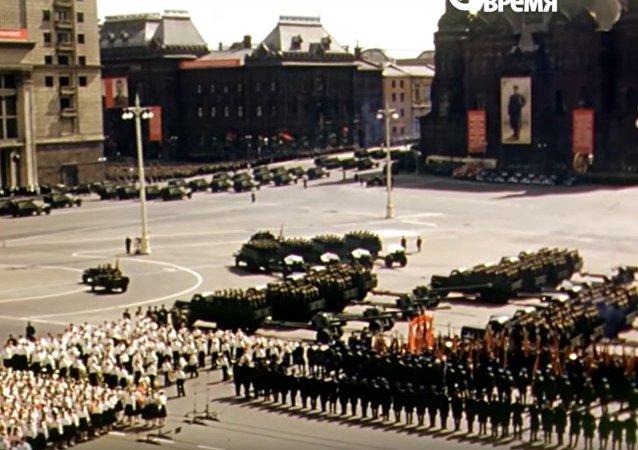 موسكو عام 1953-1954