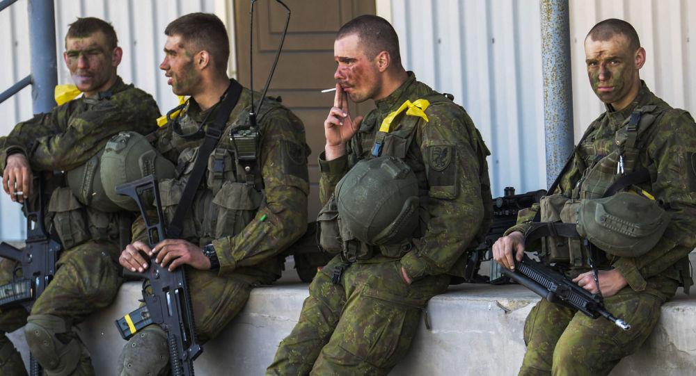 جنود الناتو في إستونيا