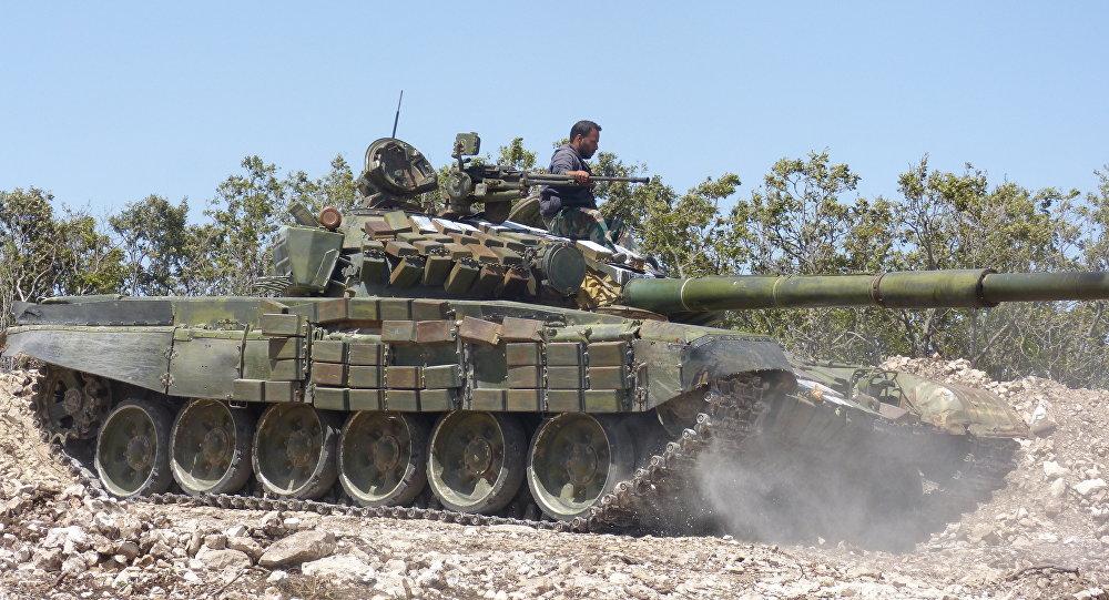 القوات السورية في ريف حماة